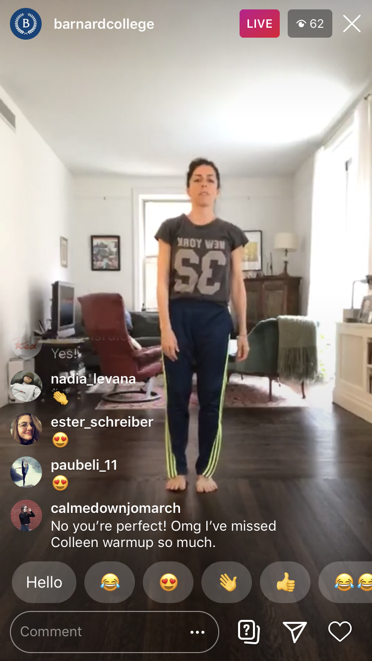 Prof. Colleen Thomas-Young Instagram Live