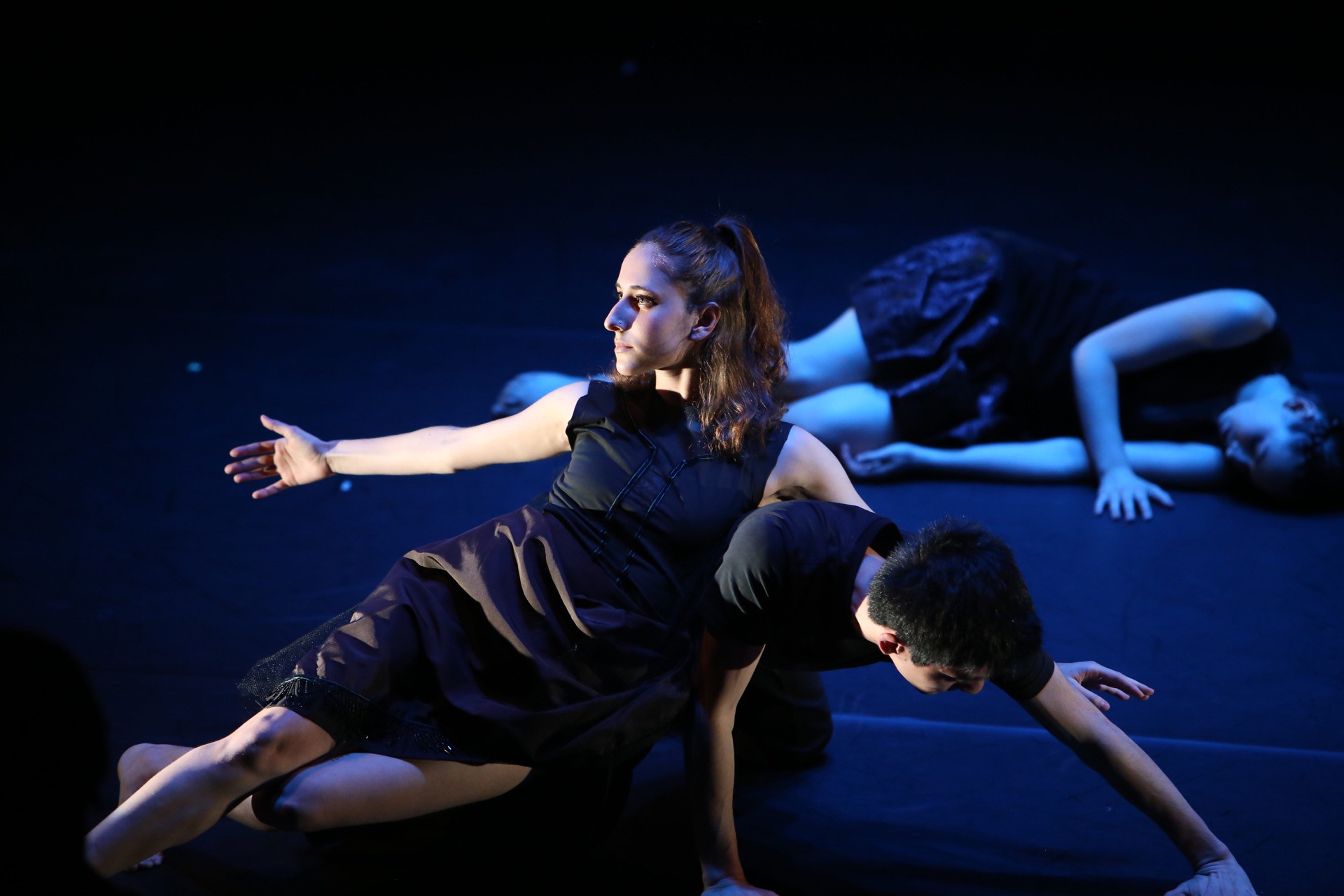 A 2018 performance of 'Catching Her Tears', choreographed by Colleen Thomas-Young